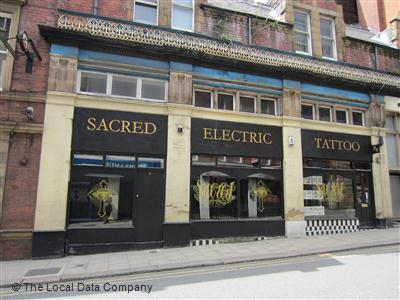 bdb6aebfd Sacred Electric Tattoo on Mill Hill - Tattooing & Piercing in City Centre,  Leeds LS1 5DQ