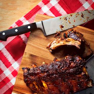 Slow Cooker Asian Pork Ribs.