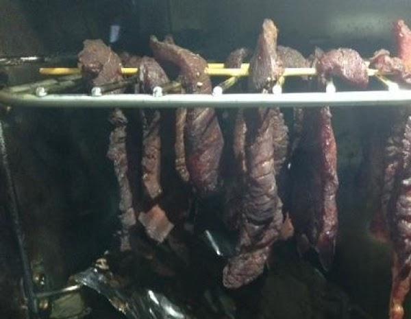 Pam's Smoked Beef Jerky Recipe