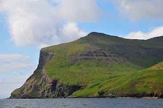 Photo: Faroe Islands on the way to Mykines, Tindolmur