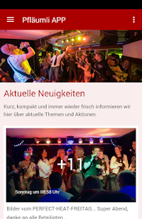 Pfläumli - der Live Club- screenshot thumbnail