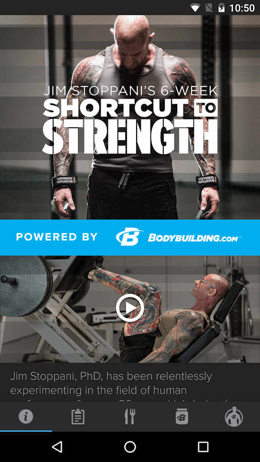 Stoppani Shortcut to Strength- screenshot