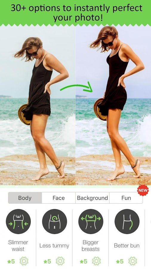 RetouchMe - body & face Photo Editor for Selfie- screenshot