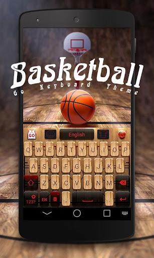 Basketball GO Keyboard Theme