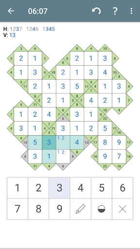 Kakuro (Cross Sums) apkpoly screenshots 7