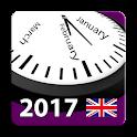 2017 UK Labor Calendar