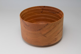 "Photo: Bill Long 4 1/2"" x 7"" bowl [cherry]"