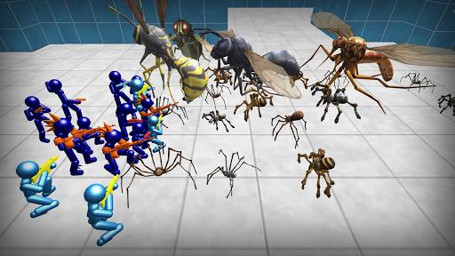 Stickman Spiders Battle Simulator 1.01 screenshots 4