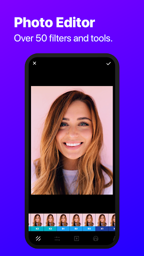 InstaSize Editor: Photo Filters and Collage Maker screenshot