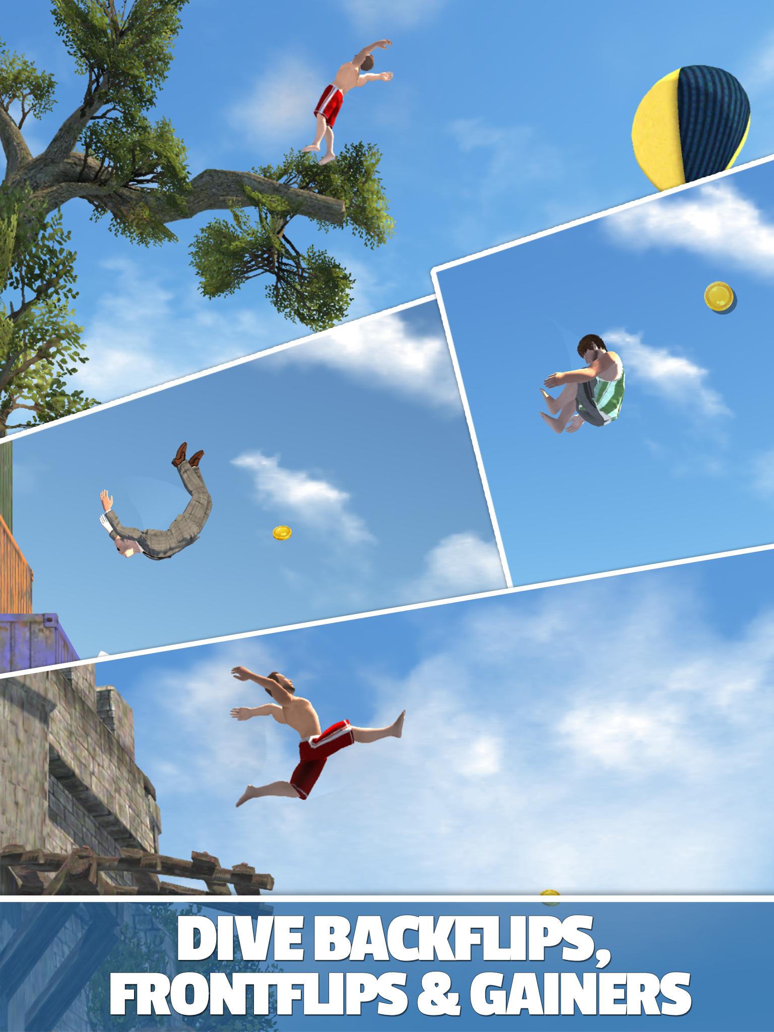 Flip Diving screenshot #12
