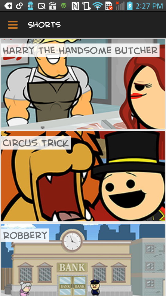 Cyanide & Happiness Android 4