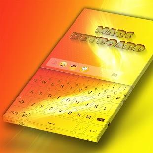 Mars Keyboard - náhled