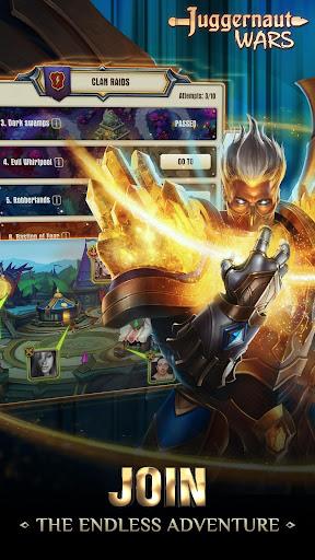 Juggernaut Wars: RPG Arena with dungeons & raids