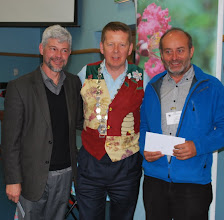 Photo: Speakers Keith Delaplane and Ged Marshall with INIB President Bill Turnbull
