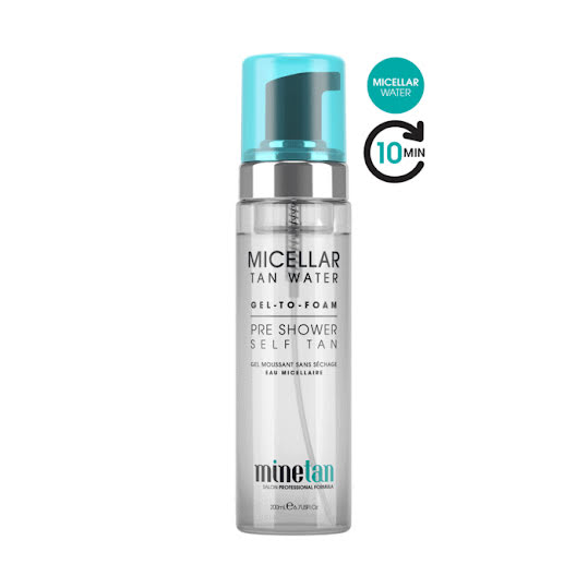 MineTan Tan Water - Pre Shower Self Tan 200 ml