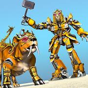 Lion Robot Car: Futuristic Robot Transformation