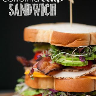 California Club Sandwich.