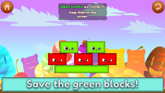 Save Green Block - náhled