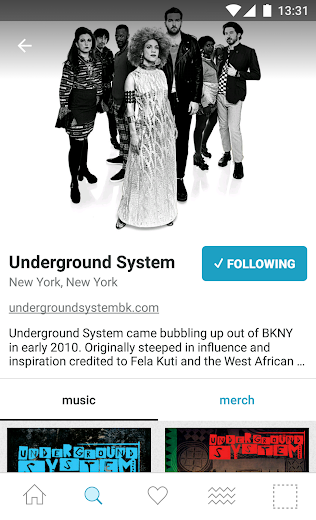 Screenshot 6 for Bandcamp's Android app'