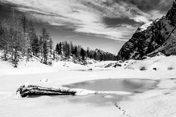 Lago d'Arpy di Claudio Polesel