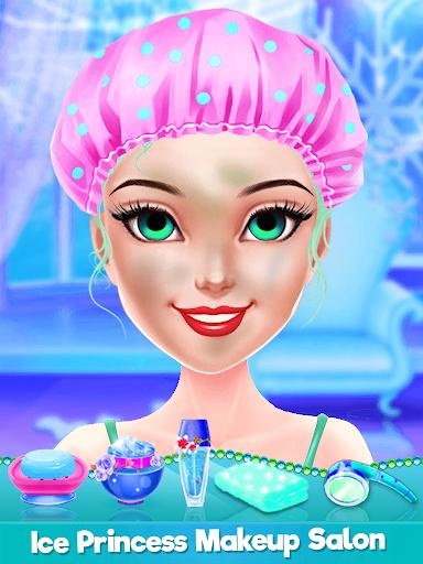 Ice Princess Makeup Salon Games For Girls android2mod screenshots 2