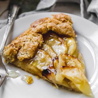 Rustic Honeycrisp Apple Tart.