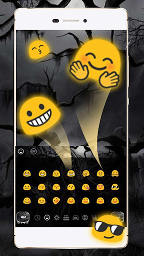 Hell Devil Death Skull Keyboard Theme for PC