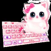 ثيم لوحة المفاتيح Cute kitty