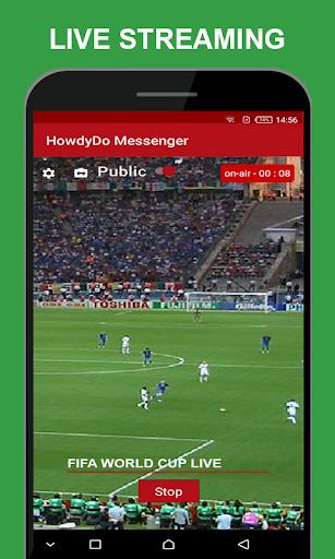 HowdyDo Messenger-Chat 1.1.9 screenshots 6