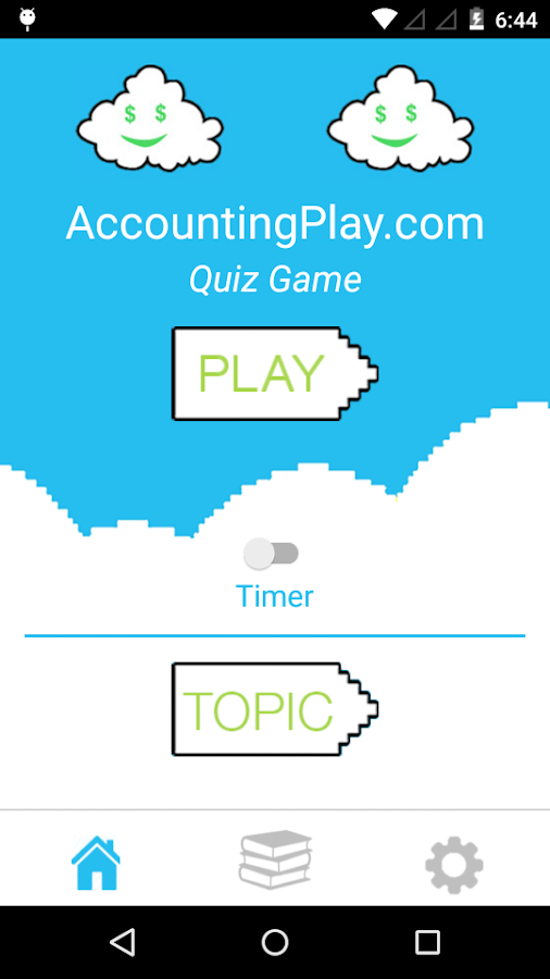 Accounting Quiz Game- screenshot