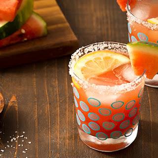 Watermelon Lemonade Margaritas