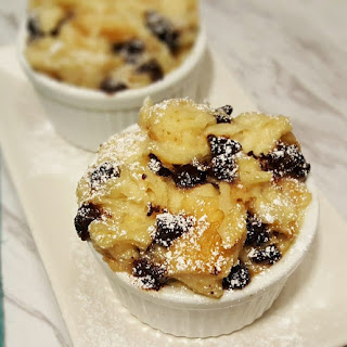 Pressure Cooker Chocolate Chip Bread Pudding.
