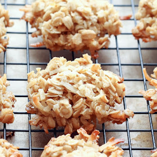 Coconut Lover's Oatmeal Cookies {naturally gluten free recipe}
