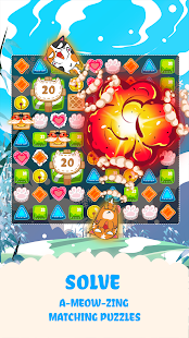 Fancy Cats - Puzzles & Kitties Screenshot