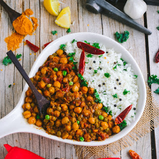 One Pot Chickpea Coconut Curry.