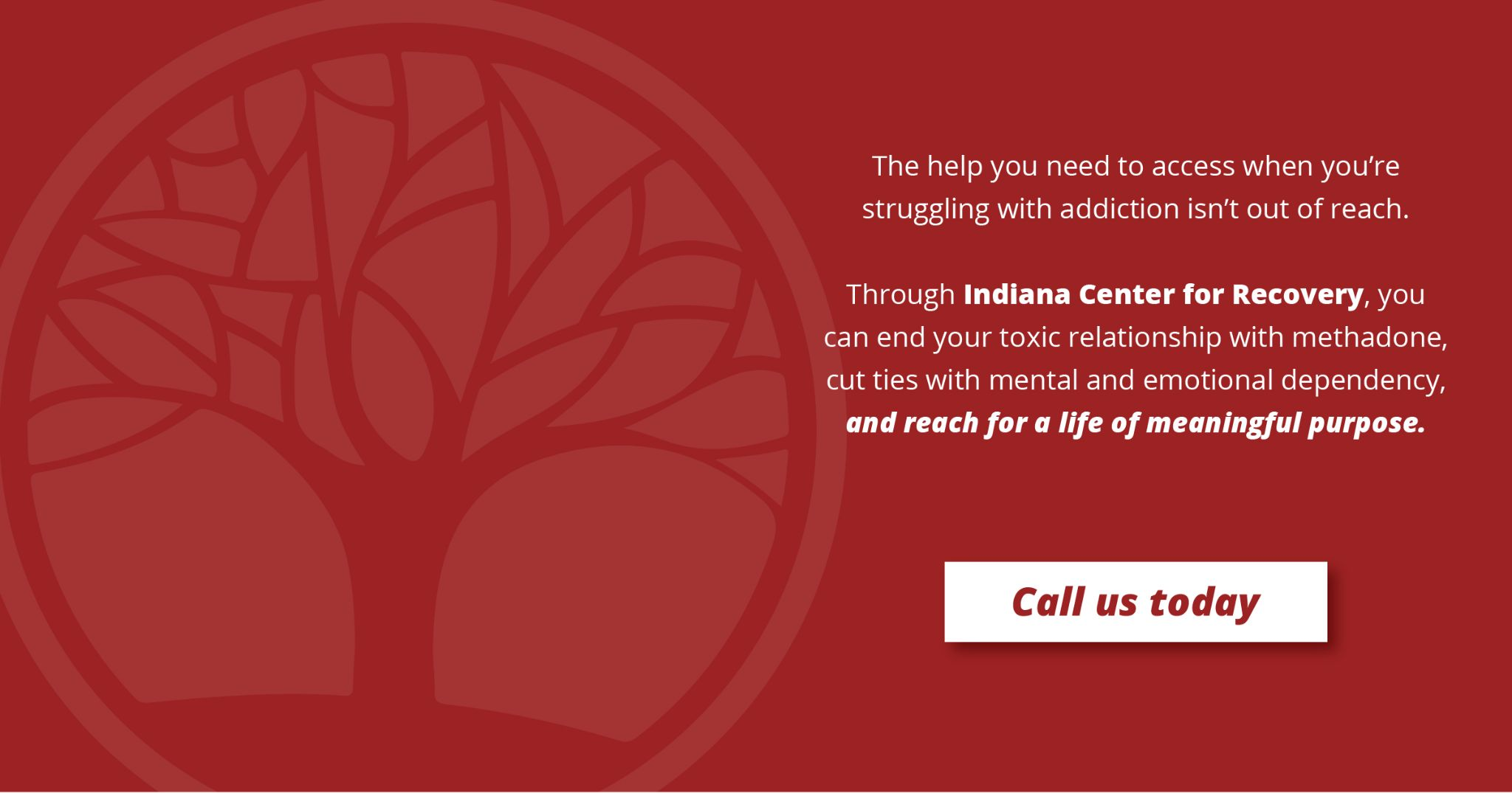 Indiana  Center for recovery contact us