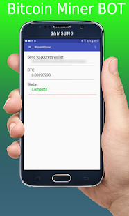 Bitcoin Miner Mobile Pro - náhled