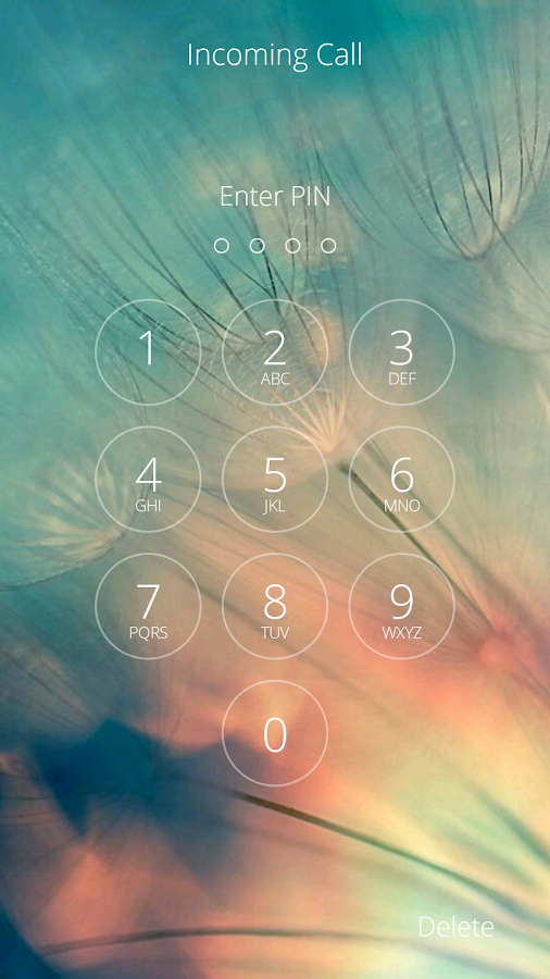 Secure Incoming Call- screenshot