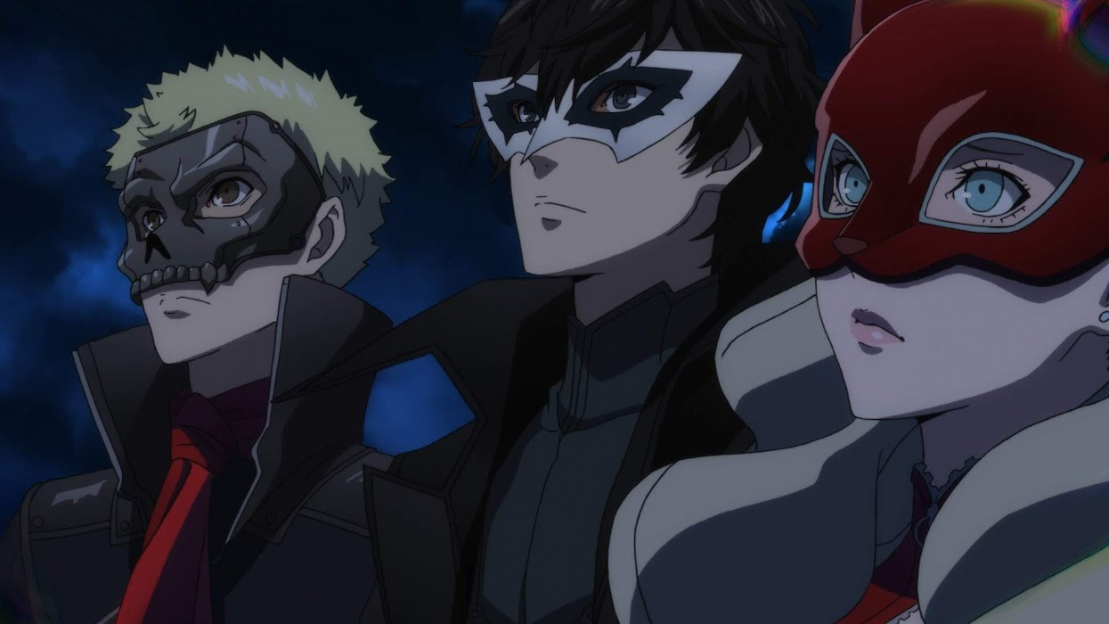 Persona 5 the Animation Episode 6 Subtitle Indonesia