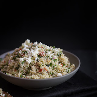 Lazy Girl Couscous Tabbouleh Recipe