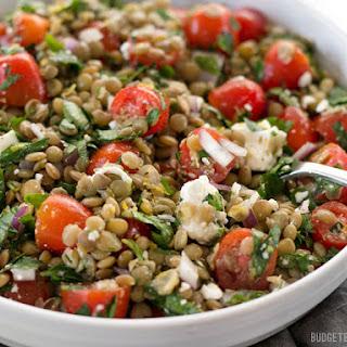 Marinated Lentil Salad Recipes