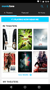 Moviefone - Movies, Trailers, Showtimes & Tickets se skermkiekie-kleinkiekie