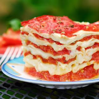 Totally Fresh Tomato Lasagna