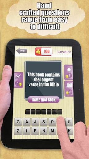 Bible Trivia Quiz Game screenshot 3