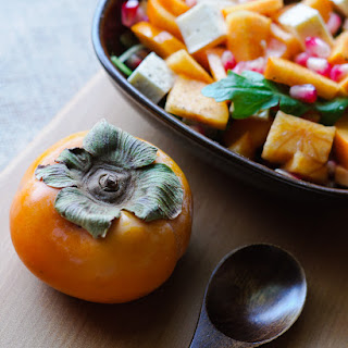Persimmons & an Awesome Autumn Salad Recipe