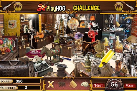 Challenge #232 Pawn Shop Free Hidden Objects Games - náhled