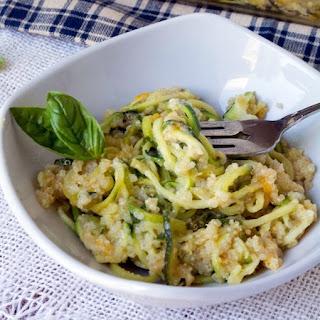 Cheesy Zucchini Quinoa Bake Recipe