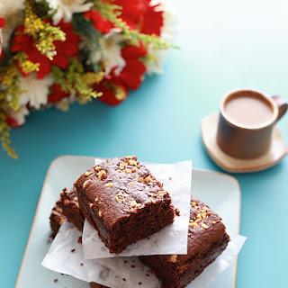 Eggless Chocolate Brownies.