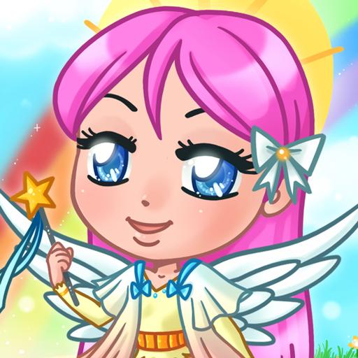Chibi Angel Dress Up Game