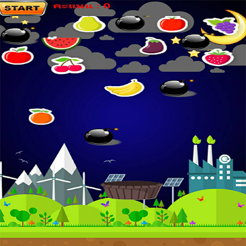 android ITBRU_FruitsFall Screenshot 1